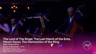 FMF 2017: 10th FMF Anniversary Gala | The Lord of The Rings III suite | Howard Shore