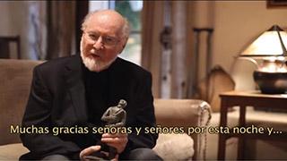 Williams greetings Fimucité Award – Star Wars main theme – FIMUCITÉ 4 (2010 Edition)